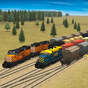 Train and rail yard simulator
