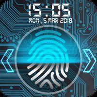 Pantalla de bloqueo de huellas digitales apk icono