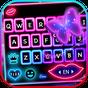 Novo tema de teclado Multi Color Neon