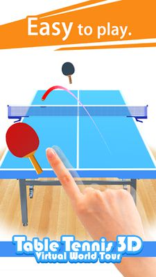 Image 4 of Table Tennis 3D Virtual World Tour Ping Pong Pro