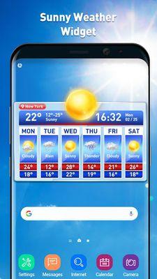 Image 2 of Weather report & temperature widget