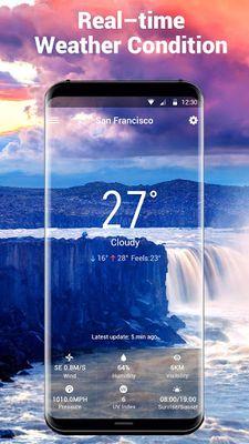 Image 3 of Weather report & temperature widget