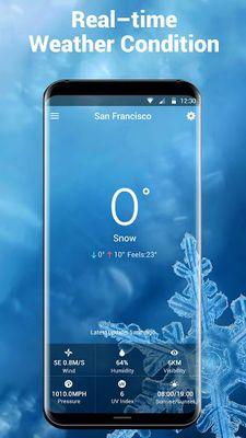 Image 4 of Weather report & temperature widget