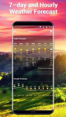 Image 5 of Weather report & temperature widget