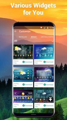 Image 6 of Weather report & temperature widget