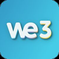We3 - Meet new people & make friends, 3 at a Time icon