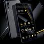 Tema de negócios preto ouro para Huawei P20