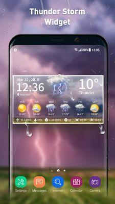 Image 5 of Live weather & clock widget