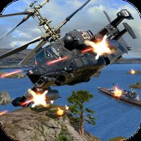 Helicopter Fighting Gunship Strike apk icon
