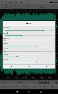 Screenshot 9 of WavStudio ™ Audio Recorder & Editor