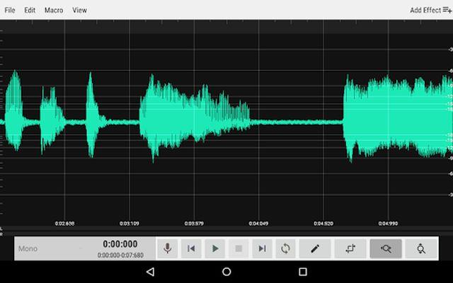 Screenshot 14 of WavStudio ™ Audio Recorder & Editor