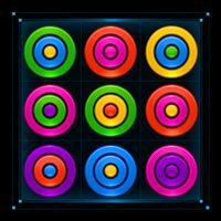 Icône de Puzzle d'anneaux de couleur