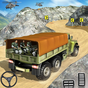 Offroad US Army Vehicle Driving