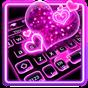 Sparkling Neon Pink Keyboard  APK