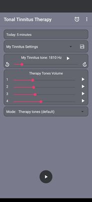 Image 1 of Tonal Tinnitus Therapy