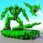 US Army Robot Transformation Jet Robo Car Tank War 1.3