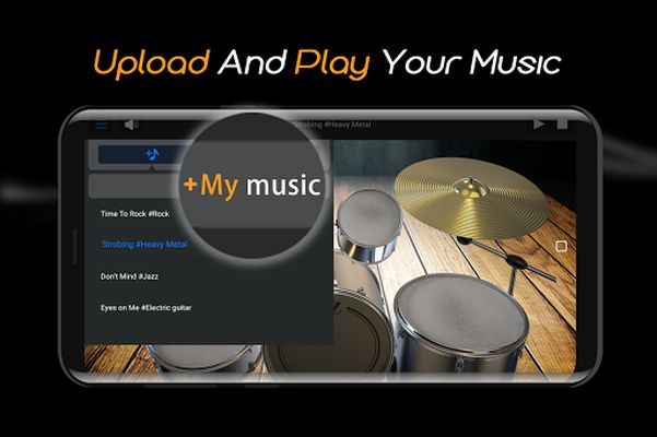 Image 3 of Easy Jazz Drums for Beginners: Real Rock Drum Sets