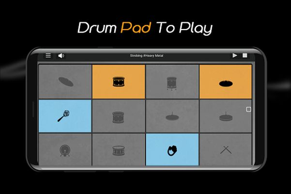 Image 1 of Easy Jazz Drums for Beginners: Real Rock Drum Sets