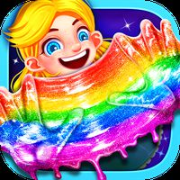 Glitter Slime Maker - Crazy Slime Fun APK Icon