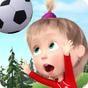 Masha et Michka: Jeux de Foot - championnat 18 1.3.6