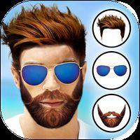 Stylish Men Editor : Mustache, Hairstyle Tattoo icon