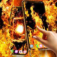 Иконка Fire flames live wallpaper