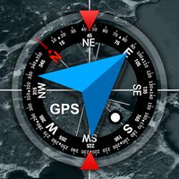 Ícone do GPS Location Info, SMS Coordinates, Compass +