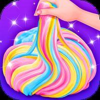 Unicorn Slime - Crazy Fluffy Trendy Slime Fun APK Icon