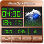 Alarm clock style weather widget  APK