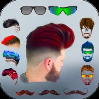 Icône de Hairy - Men Hairstyles beard & boys photo editor
