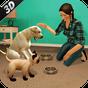 Virtual Cachorro animal gato casa Aventura família