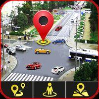 Ícone do apk GPS satélite mapas direção E navegação