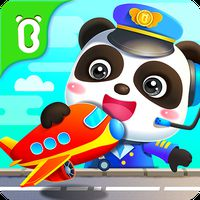 Ícone do Aeroporto do Bebê Panda