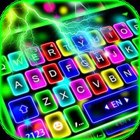 Ícone do Tema Keyboard Thunder Neon Lights