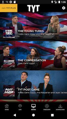 TYT Plus Image 3: News + Entertainment