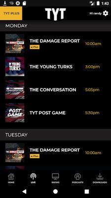 TYT Plus Image 5: News + Entertainment