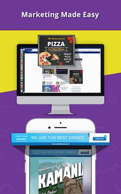 Image 22 of Banner Maker, Web Banner Ads, Roll Up Banners