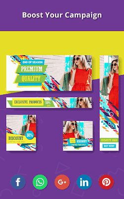 Image 23 of Banner Maker, Web Banner Ads, Roll Up Banners