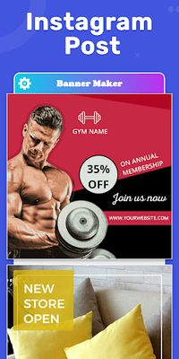 Image 16 of Banner Maker, Web Banner Ads, Roll Up Banners