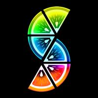 Ícone do Slices - Fatias Coloridas