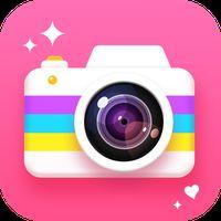 Ícone do Câmera de beleza - câmera Selfie com editor fotos