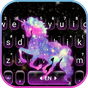 Thème de clavier Night Galaxy Unicorn