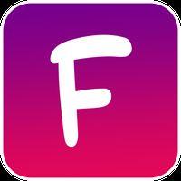 Icône de Multi couleur pour Facebook