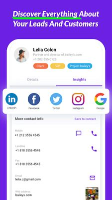 Image 7 of LEADer: Free CRM, Customers, Leads & Sales Tracking