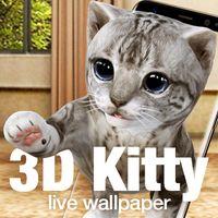 Ícone do apk Kitty & cat live wallpaper